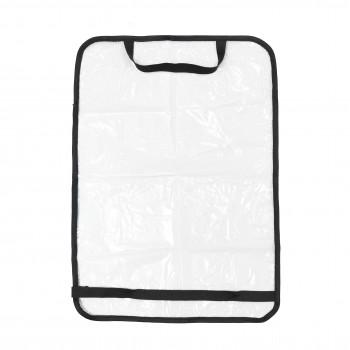 Защита на спинку сиденья Twins 8099-TA-00, transparent, черный