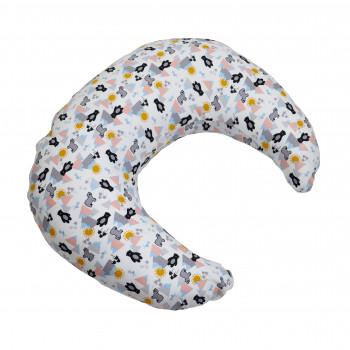 Подушка для беременных Twins Moon (трикотаж) 1204-TM-20B, bear, мультицвет