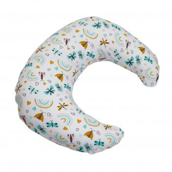 Подушка для беременных Twins Moon (трикотаж) 1204-TM-20B, Butterfly, мультицвет