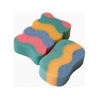 Мочалка для купания Badum Фантазия B-GF-10, multicolor, мультицвет