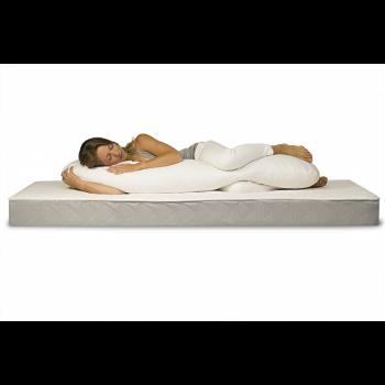 Подушка-валик Badum для беременных PV 140*40 B-PV-140, white, белый