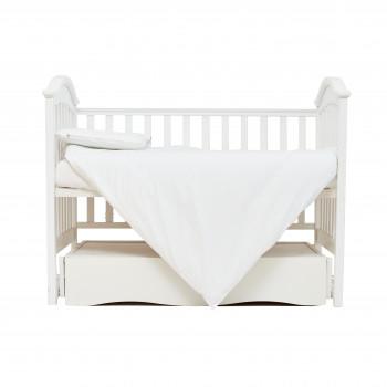 Сменная постель 3 эл Twins Organic (бязь премиум) 3021-TO-01, white, белый