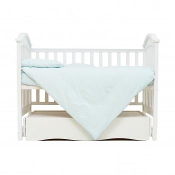 Сменная постель 3 эл Twins Organic (бязь премиум) 3021-TO-14, mint, мятный