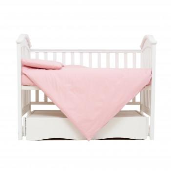 Сменная постель 3 эл Twins Organic (бязь премиум) 3021-TO-24, powder pink, пудра