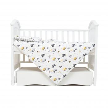 Сменная постель 3 ел Twins Comfort line 3054-C-05110, Авто, серый
