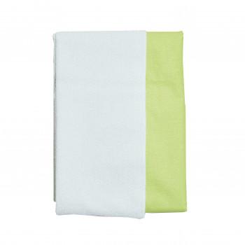 Пеленка Twins двусторонняя водонепроницаемая 100х70 1610-МХ-19-100х70, light green, салатовый