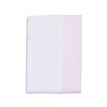 Пеленка Twins двусторонняя водонепроницаемая 100х70 1610-МХ-08-100х70, pink, розовый