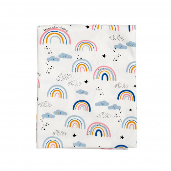 Пеленка Twins трикотаж 110/90 1601-PTT-110/90-20R, Rainbow, мультицвет