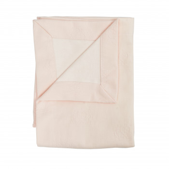 Плед Twins Pastel nude Summer 100х100 1407-TPS-24, Queen pink, пудра