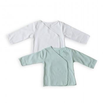 Сорочка Caramel інтерлок довгий рукав (2 шт) neutral, мультиколір