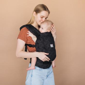 Эрго - рюкзак Love & Carry One+Cool LC554, Урбан, черный