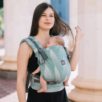 Эрго - рюкзак Love & Carry One+Cool LC551, Секвойя, зеленый