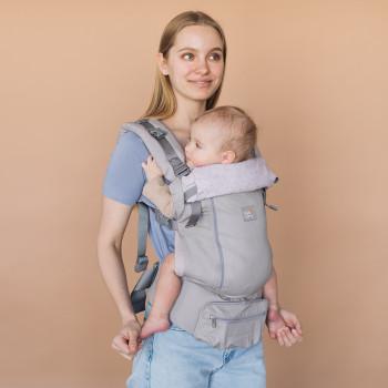 Эрго - рюкзак Love & Carry AIR X LC131, Айвори, бежевый
