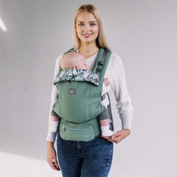 Эрго - рюкзак Love & Carry AIR X LC133, Бергамот, зеленый