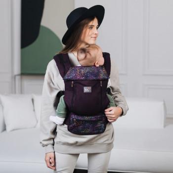 Эрго - рюкзак Love & Carry AIR X LC124, Арт, фиолетовый