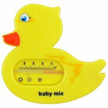 Термометр для ванночки Baby Mix RA / BD19153 Утка RA / BD19153D, Duck, желтый
