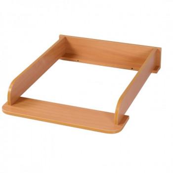 Пеленальный блок 600, арт. 36.2 шт. 36.2.03, орех, коричневый