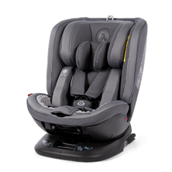 Автокресло Coletto Logos Izofix 0-36 dark grey, сірий