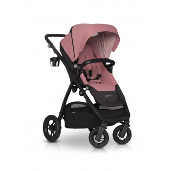 Коляска EasyGo Optimo 2021 9023-EGO21-16, Rose, розовый