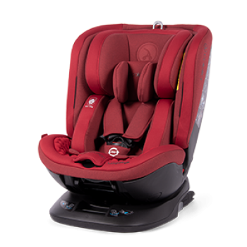 Автокресло Coletto Logos Izofix 0-36 red, червоний