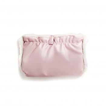 Муфта Twins Voyage Eco (хутро) 80-193-TVEX-08, pink, рожевий