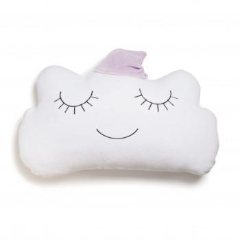 Бампер - подушка Twins Cloud 7099-DC-24, nude, розовый дым