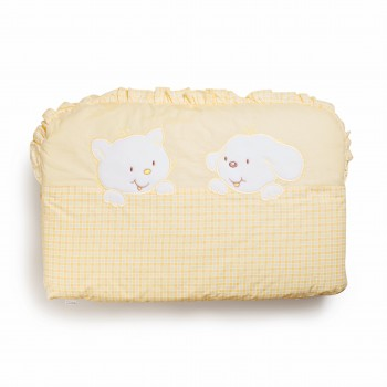 Бампер Twins Limited 2099-TL-002, Dog & cat yellow, желтый