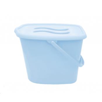 Ведерко для памперсов Maltex Classic blue, голубой