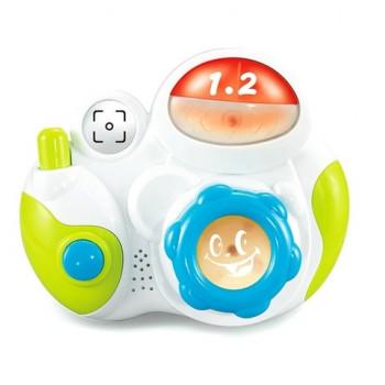 Пластиковый музыкальный Фотоаппарат Baby Mix PL-310579, Фотоаппарат, мультиколир