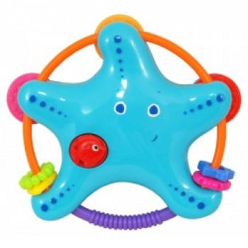 Игрушка пластиковая Baby Mix KP-0599 Звездочка KP-0599, mix, мультиколир