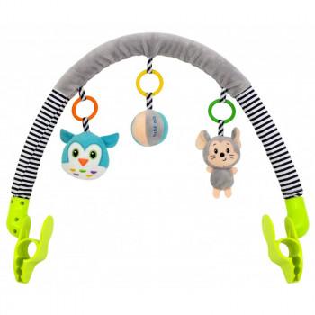 Дуга для коляски Baby Mix TE-8544-94 Мышка и сова TE-8544-94, mix, мультиколир