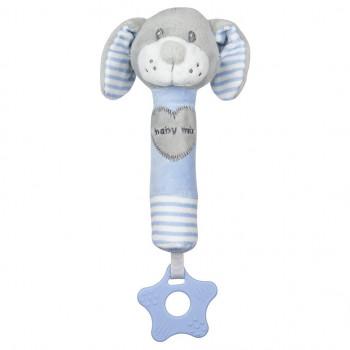 Плюшевая игрушка для руки Baby Mix STK-19392D Собачка STK-19392 BD, blue, синій