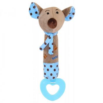 Плюшевая игрушка для руки Baby Mix STK-16058 Мышка STK-16058B, blue, синій