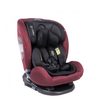 Автокресло Coletto Cascade Izofix 0-36 red, червоний