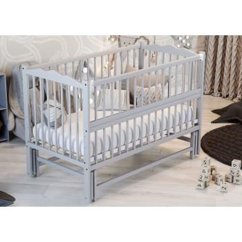 Кровать Дубок Радуга с ящиком серый, серый