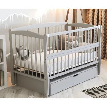 Кровать Дубок Элит 2 серый, серый