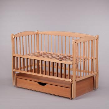 Кровать Дубок Элит 2 натуральный, бежевый