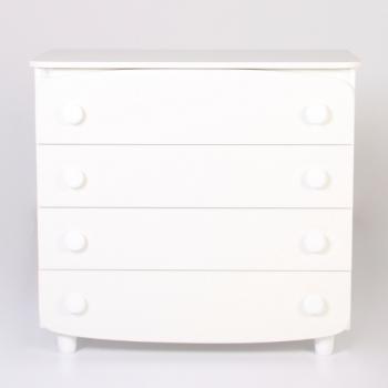 Комод-пеленатор Верес 900 ЧП 33.2.1.2.06, белый, белый