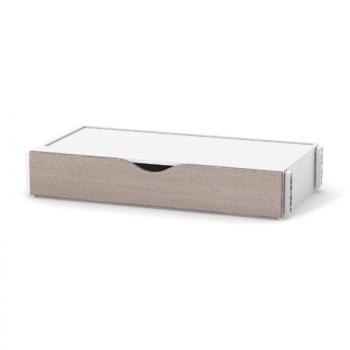 Короб маятникового механизма Сидней поперечный с ящиком 40.23.1.13, капучино / белый, белый / беж