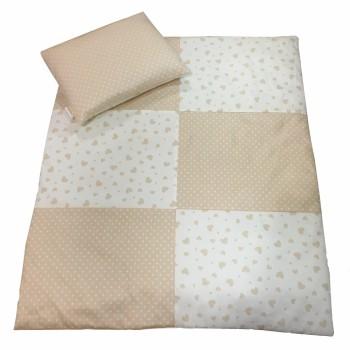 Одеяло и подушка Twins в коляску 1600-1852-20, multicolor, мультиколир