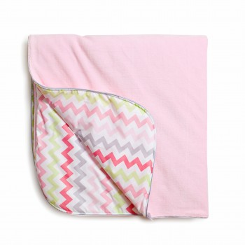 Плед Twins Happy 90х90 1433-TH-08, pink, рожевий