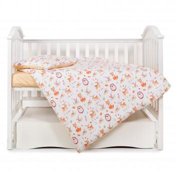 Сменная постель 3 эл Twins Modern 3040-PM-18, fox, оранжевый