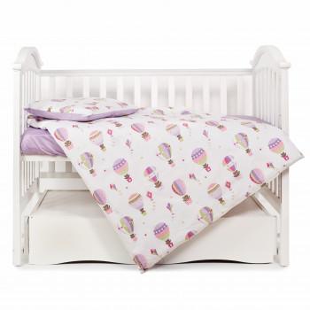 Сменная постель 3 эл Twins Modern 3040-PM-11, Balloon, фиолетовый