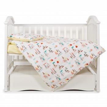Сменная постель 3 эл Twins Modern 3040-PM-20, Forest Color, мультицвет
