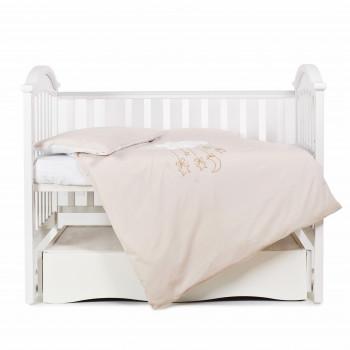 Сменная постель 3 эл Babycentre & Twins Moonlight 4011-ZBTMO-02, beige, бежевый