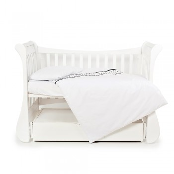 Сменная постель 3 эл Twins Evo Полярные медведи 3080-EPV-01 White, белый / черный
