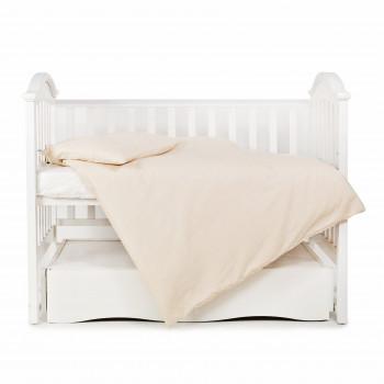 Сменная постель 3 эл Twins Romantic 3024-R-001, Горошки, бежевый