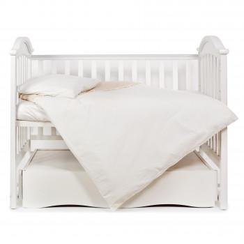Сменная постель 3 эл Twins Romantic 3024-R-003, Baloniki, бежевый