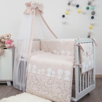 Постельный комплект 8 эл Twins Sweet 4053-SW-016, Umka pink, розовый