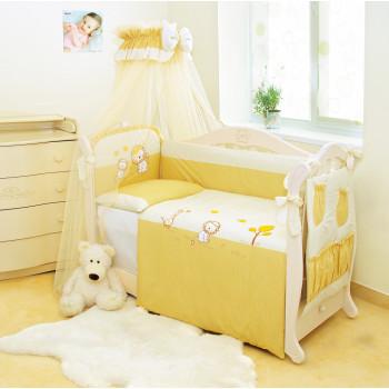 Постельный комплект 8 эл Twins Evo Leo 4073-A-001, beige, бежевый